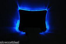 BLUE LED LIGHT ILLUMINATED MOUSE PAD/MAT WITH 4 PORT USB HUB PC/COMPUTER/laptop