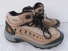 Merrell Pulse waterproof  mid leather mens hiking sneaker trail 10.5 boot laces