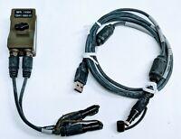 Harris 12041-5662-01 Falcon III Handheld PRC-152A KDU/USB Programming Cable Kit
