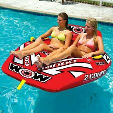 WOW Sports WOW World of Watersports 15-1030 Coupe Cockpit Towable Inflatable ...