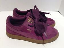New Puma Suede Heart Sneaker Lavendar Lustre White 365010 02 Girls YOUTH Sizes