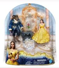 New Disney Beauty And The Beast Enchanted Rose Scene Mini Playset Girl Toy Doll