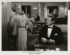 Claire Trevor, Edmund Lowe ~ ORIGINAL 1935 scene still ~ Black Sheep