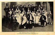 Eine altschlesische Hochzeit in Warmbrunn * schlesische Tracht Bilddokument 1899