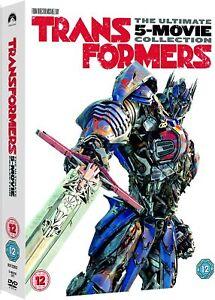 Transformers: 5-Movie Collection (DVD + Bonus Disc) [2017] Box Set