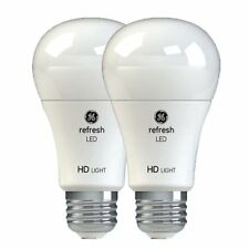 GE refresh HD 10.5-Watt/60-Watt Frosted White A19 LED-w/Medium Base - 800 Lumens