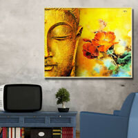 DIY Buddha Paint By Number Kit Acrylic Oil Painting On Canvas Art Home well