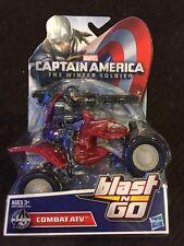 Captain America Marvel Blast N Go Combat ATV Vehicle Avengers