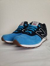 NEW BALANCE 576 M576PNB MADE IN ENGLAND Black Blue Sneakers Shoes 8.5 Mens