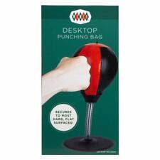 Desktop Punching Bag Stress Relief Boxing Novelty White Elephant Gag Gift Nib