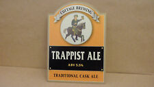 Cottage Brewing Trappist Ale Beer Pump Clip Pub Bar Collectible 66