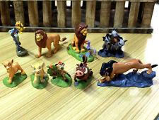 Ensemble de 9 pcs The Lion King Disney Cake Topper Action figures film Toy Set S