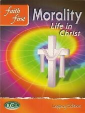 >>BRAND NEW<< FAITH FIRST MORALITY LIFE IN CHRIST CATHOLIC TEXTBOOK