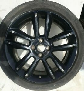 Vauxhall CORSA D E   TIGRA 17 INCH BLACK ALLOY WHEEL &TYRE 215 45 17