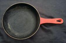 Le Creuset cast iron 20cm Omelette Pan, Cherry red vintage