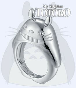 TOTORO Ring 925 Sterling Silver Ring