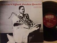 CLIFFORD JORDAN QUARTET: Bearcat US Jazzland Jazz Stereo LP JLP969 GD+ free shpg
