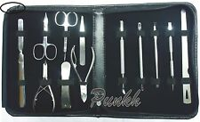 12 PCS  HIGH QUALITY STAINLESS STEEL MANICURE AND PEDICURE BEAUTY TOOLS SET