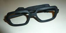 Sportbrille, Brillengestell, schwarz, Gummi, Gummirahmen, Brille, o. Gläser, BW