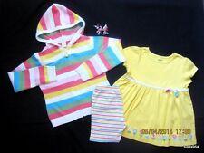 Gymboree Spring Summer 15 pc Lot Sets 7 Tops Shirts Shorts Skirt Hair Sets HCTS
