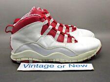 d2991e11346dda Nike Air Jordan X 10 Cherry Red Retro PS 2005 sz 3Y