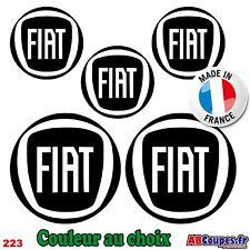 5 Pegatinas Logo Fiat - 500 X L Ducato Stilo Tipo - 223