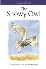 POTAPOV POYSER BIRDS BOOK THE SNOWY OWL RAPTORS hardback BARGAIN new