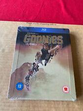 The Goonies (1985) Rare UK Blu Ray Steelbook NEW & SEALED OOP