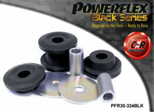 PFR30-334BLK Powerflex Black Lancia Integrale 16v 89-94 Rear Diff Mount Bushes