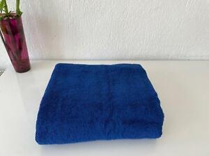 100% Cotton Extra Large Oversized Bath Towel Dark Blue Bath Sheet 40x87 inch