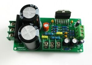 Dual channel LM4766T parts 50W*2 with rectifier filter capacitor