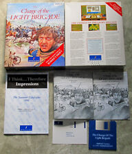 THE CHARGE OF THE LIGHT BRIGADE MANUALE IN INGLESE-ITALIANO-FRANCESE PER AMIGA