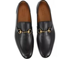 6c745d49a85 100% Authentic New Woman GUCCI Betis Glamour Loafers Black Size 8 With Box