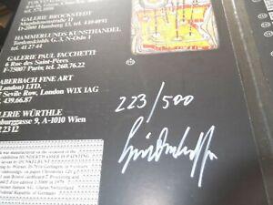 HUNDERTWASSER SIGNIERT LIMITIERT HAND SIGNED EX 223/500 Hundertwasser painting