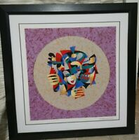 FRAMED ANATOLE KRASNYANSKY SERIGRAPH AND SILKSCREEN; MUSICAL SPHERE SIGNED