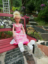 "RARE Vintage Life Size Girl Doll 40"" UNEEDA Baby Doll Sleep Eyes  ,ONE OF A KIND"