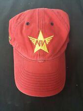 Vintage Nike Team Nationals 2006 Red Hat Cap Adjustable Strap