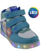 Disney Frozen die Eiskönigin Knöchelschuhe Sneakers mit Licht