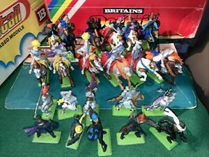 Britains Deetail  Toy Solders 1971. Turks And Silver Knights