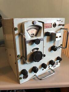 VINTAGE Murphy Naval Navy radio receiver type 618 amateur radio AP 100335 HF MF