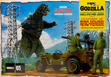 Willys MB Jeep GODZILLA Invasion of Astro-Monster 1:25 MPC Model Kit MPC882