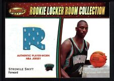 STROMILE SWIFT 2000/01 BOWMAN'S BEST RC ROOKIE LOCKER ROOM RELIC JERSEY SP $20