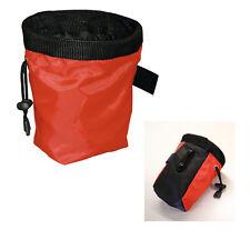 Leckerlietasche, Trainingstasche, Futterbeutel - Futtertasche - Rot - 500 ml