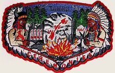 TANNU OA LODGE 346 S-39a Nevada Area Council PATCH WIYAKA CEREMONIES FLAP TOUGH