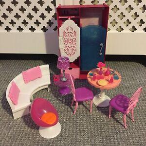 Barbie Malibu Dream House Furniture & Accessories