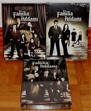 LA FAMILIA ADDAMS 1-3 TEMPORADAS COMPLETAS 9 DVD NUEVO PRECINTADO (SIN ABRIR) R2