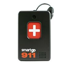 SmartGo 911 Help One-Touch Direct Connect Medical Alert Pendant - No Monthly Fee