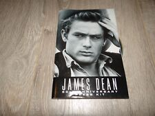 james dean rare dossier presse cinema  50ème anniversaire press kit 60 pages cd