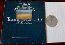 MAXWELL DAVIES AVE MARIS STELLA TENEBRAE LP UNICORN KP 8002 NM (1981) HOLLAND