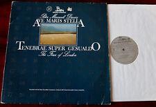 MAXWELL DAVIES AVE MARIS STELLA TENEBRAE LP UNICORN KP 8002 NM (1981) HOLLAND